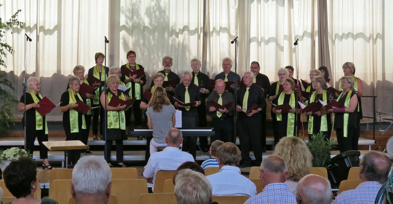GMV Böbingen, Leitung: Ellen Riek