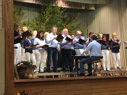 """""""Chorus Lein"""" vom Liederkranz Heuchlingen unter der Leitung von Bernd Büttner"""