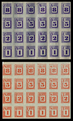 War Ration Book 2 stamps