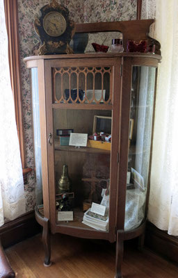 In our curio cabinet we display another form of home entertainment.