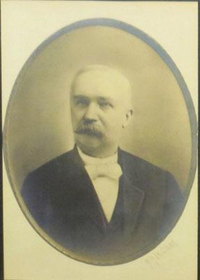 Dr. Daniel Baert (1839-1904) - First President of the Village of Zeeland