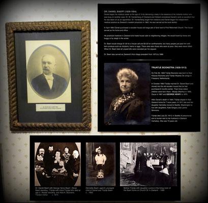 Dr. Daniel Baert (1839-1904) and Trijntje Boonstra (1839-1913) - great grandparents of Dr. G. Craig Ramsay