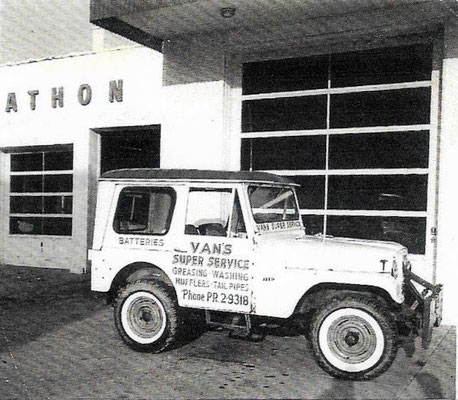 """""""This was Dad's 1960 jeep, second of two that he owned."""""""
