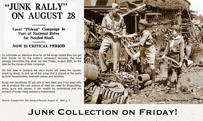 """Junk Rally"" in Zeeland, Michigan"