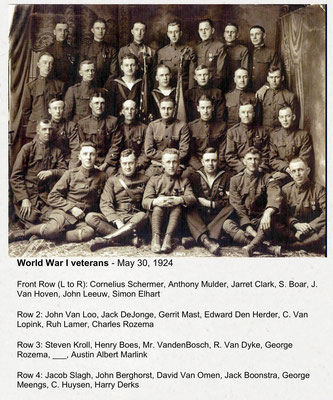 World War One Veterans - May 30, 1924