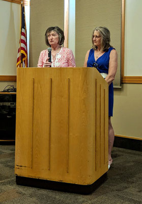 Sisters Dr. Deb Havens (left) and Lynette Doele live in the Grand Rapids area (photo by Heather Wood-Gramza)