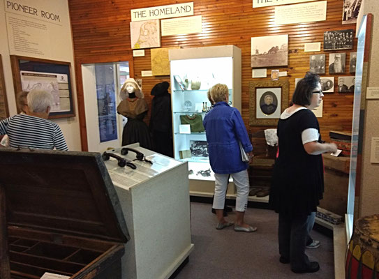 The museum stayed open for visitors to explore the history of Zeeland.   :: photo by Arlene