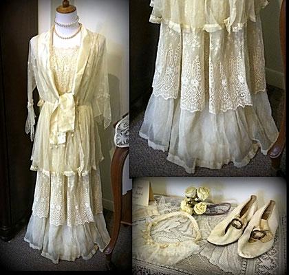 Dress worn by Henrietta (Bosch) DeBruyn - summer 1900