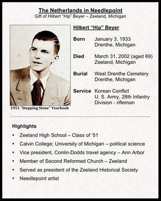 """Artist, Hilbert """"Hip"""" Beyer"""