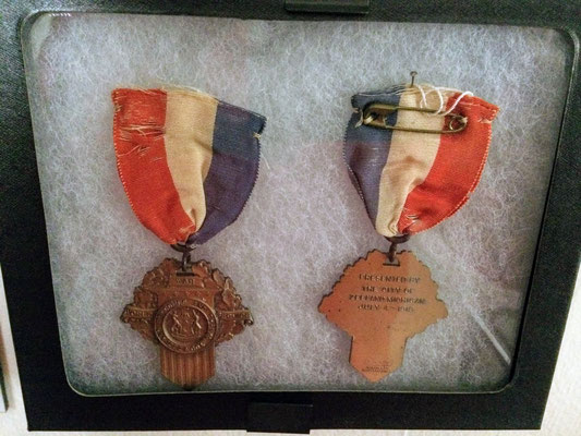 The WWI Service Victory Medal was PRESENTED BY THE CITY OF ZEELAND MICHIGAN JULY 4TH 1919