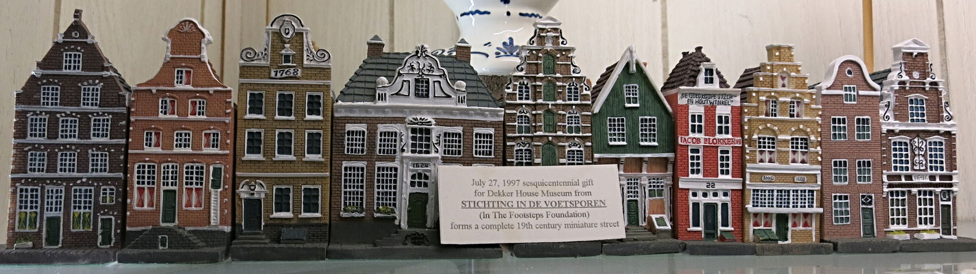 This collection forms a complete 19th century miniature street - c. 1997