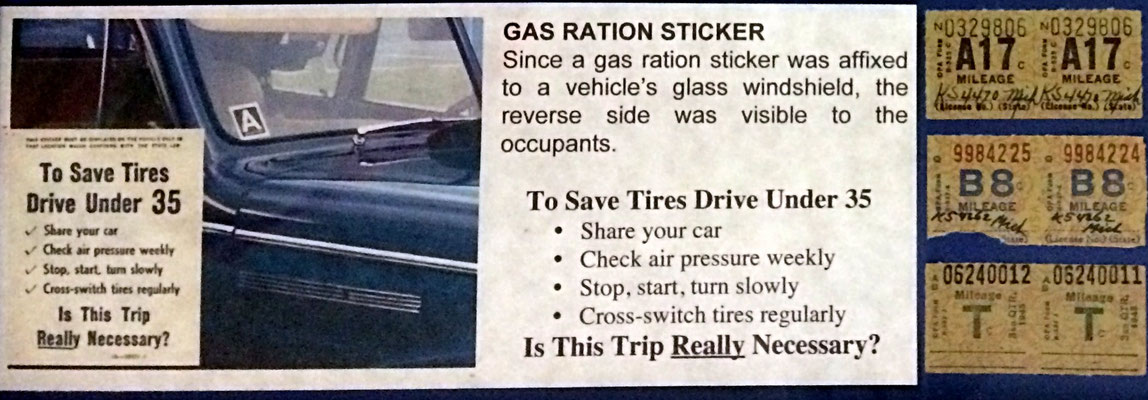Gas / Mileage Rationing