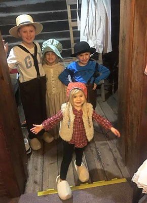 TRY ON PIONEER CLOTHES :: photo by Kristen Grassmid