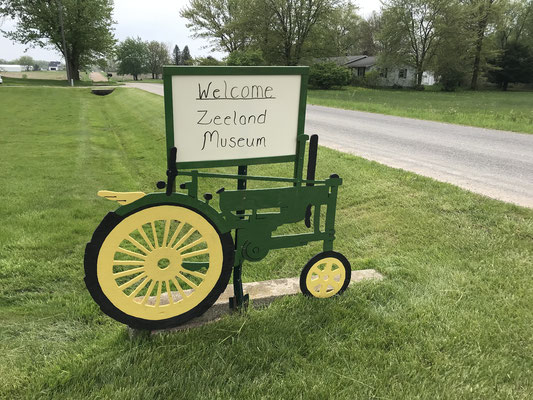 """Welcome Zeeland Museum"" (photo by Susan)"