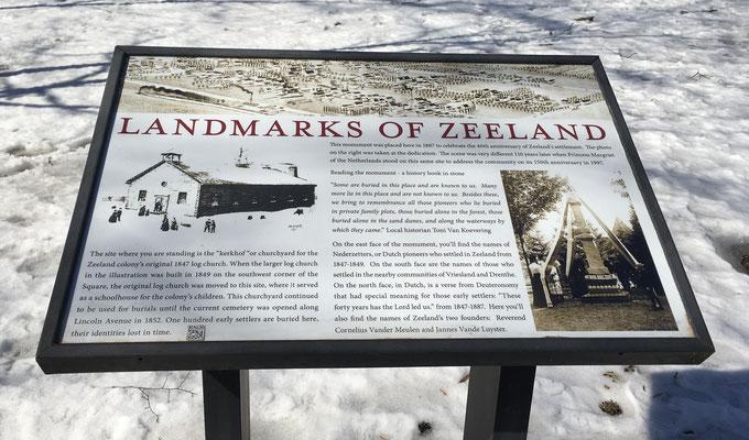 LANDMARKS OF ZEELAND - The Public Park
