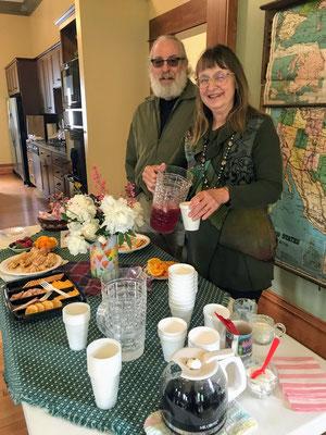 ZHS President, Debbie Albert with hubby Steven