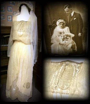 Dress worn by Joan (Buter) Danhof - 1920