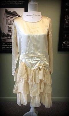 Dress worn by Johanna Fredericks - 1927