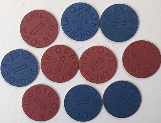 War Ration Book 4 tokens
