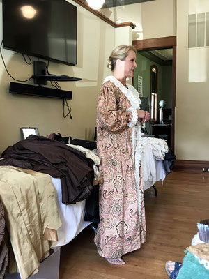 Wendy Batchelder has worked as an educator and costumer for many years. Her goal is to bring history to life by demonstrating and sharing what it was really like to dress and live as a Victorian woman over 100 years ago. (http://www.lostartsrevived.com)