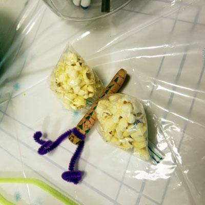 Popcorn butterfly