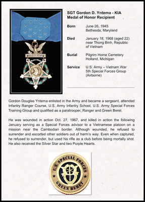 Commendation for Medal of Honor
