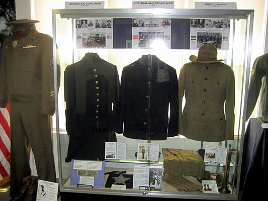 NORTH WALL - The Uniform Display Case