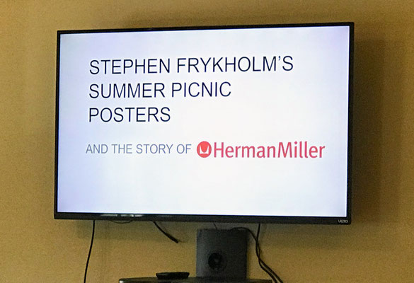 Stephen Frykholm's Summer Picnic Posters