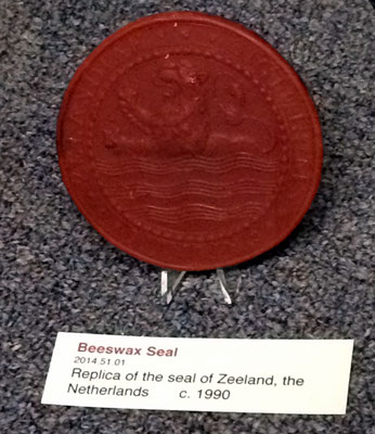 Beeswax seal of Zeeland - c. 1990