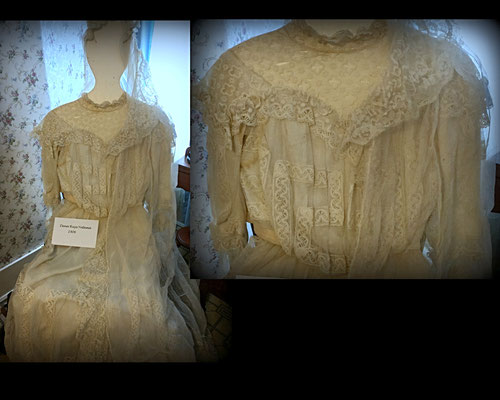Dress worn by Dena (Ruys) Yntema - 1906