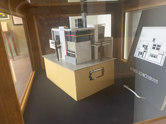 A model of the Rietveld's Schroder house