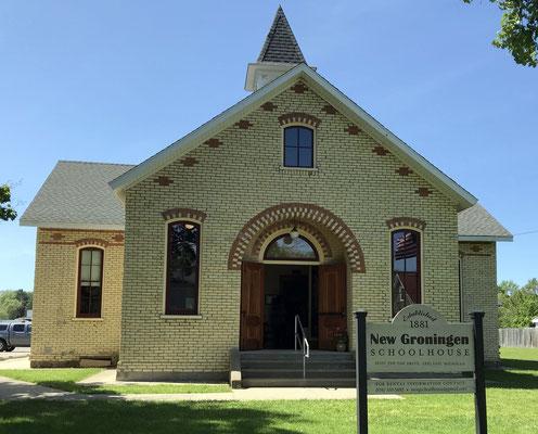 New Groningen Schoolhouse at 10537 Paw Paw Drive, Zeeland