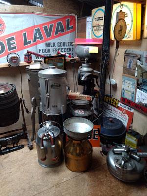 Dairy equipment (photo by Arlene)