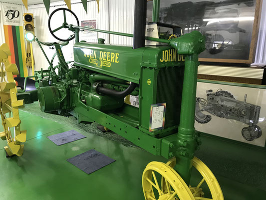 1937 John Deere B, 10 HP (photo by Susan)
