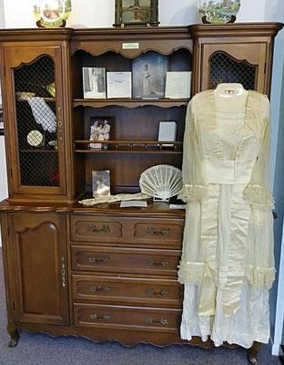 Dress worn by Ruth (Veldhuis) DeRoos - 1894 (photo by Arlene)