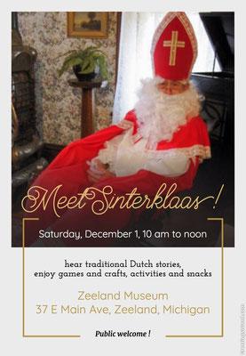 Meet Sinterklaas!
