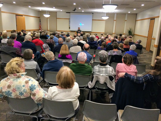 """We watched a documentary film, """"The Poor Farm"""", which tells the story of the Eastmanville Poor Farm in Ottawa County, Michigan :: photo by Susan."""