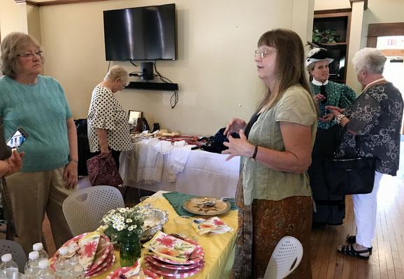 Hostess Debbie Albert invites the ladies to the next Wendy Batchelder event on Saturday, September 21