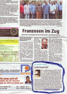 Halterner Zeitung Beitrag 2