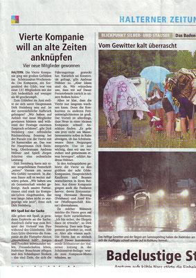 Halterner Zeitung Beitrag 3