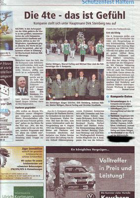 Halterner Zeitung Beitrag 1