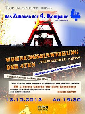 Einweihung Kompanielokal 2012