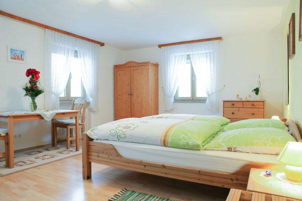 """Das Doppelzimmer """"Auf der Sonnenseite"""""""