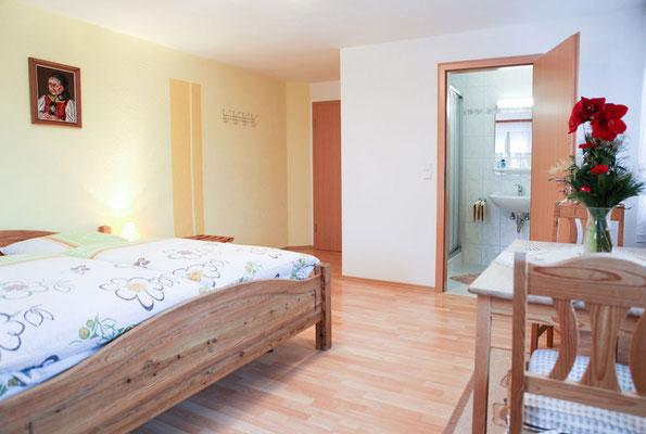 Helle und moderne Gästezimmer in unserem Ferienbauernhof