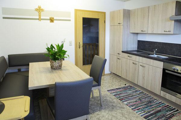 Unsere modere und gut ausgestattete Gästeküche