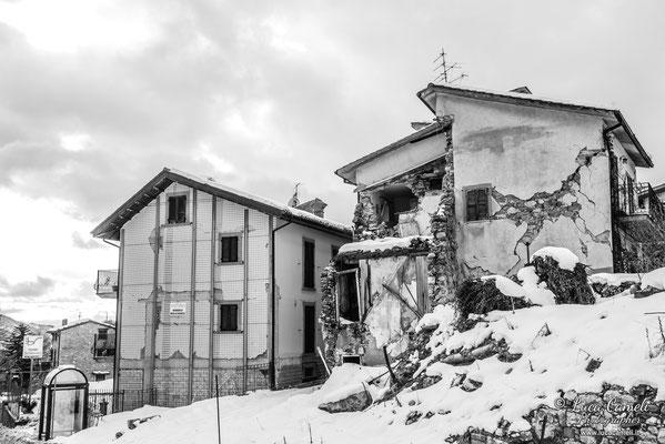 Terremoto Centro Italia. Piedilama, dicembre 2018. © Luca Cameli Photographer