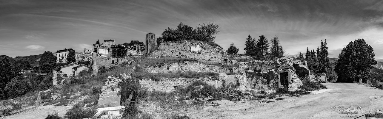 Lo Stato Delle Cose: Terremoto Centro Italia 5 Anni Dopo. Accumoli, zona rossa. © Luca Cameli Photographer