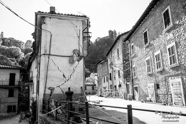 Terremoto Centro Italia. Arquata del Tronto, ottobre 2016. © Luca Cameli Photographer