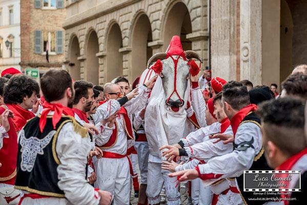 Carnevale Storico Di Offida, Il Bove Finto 2018 [Lù Bove Fint]