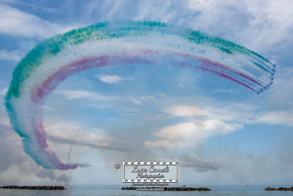 Frecce Tricolori - Pattuglia Acrobatica Nazionale - Rivolto (Udine) - Air Show San Benedetto del Tronto